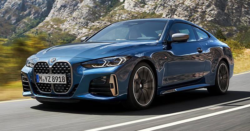 The All new BMW 4 Series Coupe